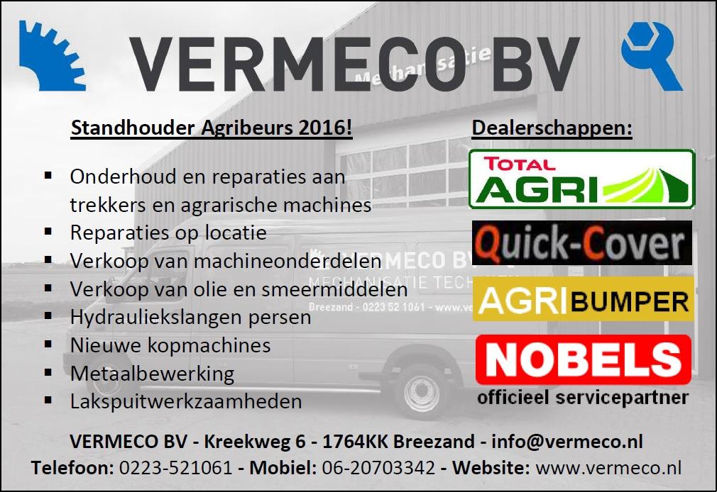 Advertentie Vermeco BV